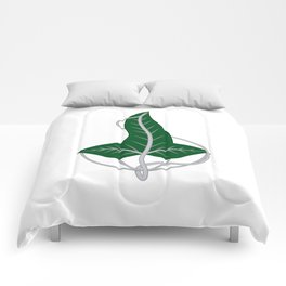 Leaf of Lorien Comforters