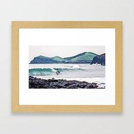 surfEXPLORE South Korea Framed Art Print