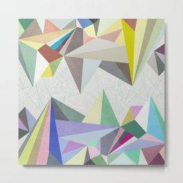 Colorflash 4 Metal Print