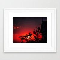 amelie Framed Art Prints featuring Amelie by jbatelier