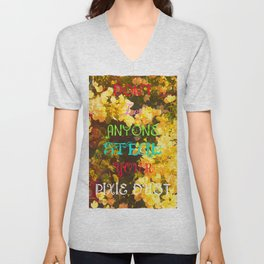 Don't let anyone steal your pixie Dust. Unisex V-Neck