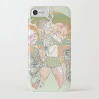 blush iPhone & iPod Cases featuring blush by Cassidy Rae Marietta