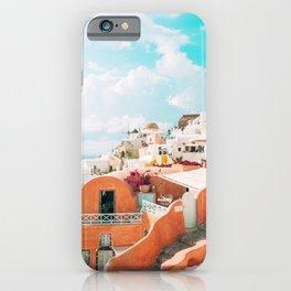 Santorini Glance iPhone Case