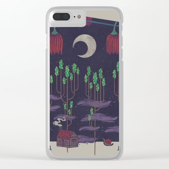 Vacation Home Clear iPhone Case