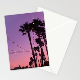 Lit Sunset Stationery Cards
