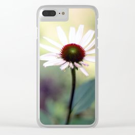 white wash nature Clear iPhone Case