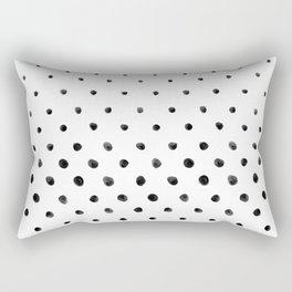 Dottie - White Rectangular Pillow