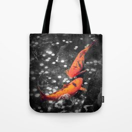 Lucky Koi Fountain Tote Bag