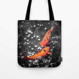 Lucky Koi Fountain Tote Bag