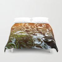 illusion Duvet Covers featuring Illusion by Kitsmumma