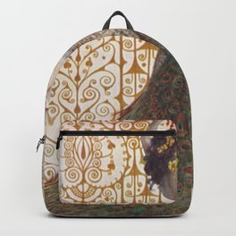 Ornate Art Deco Backpack