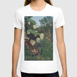 Henri Rousseau, The Equatorial Jungle, monkeys in the forest T-shirt