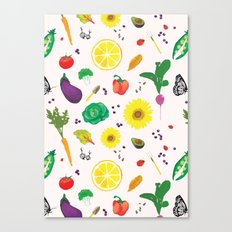 Delicious Vegetables Canvas Print