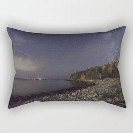 Milky Way at Queenslands Beach Rectangular Pillow