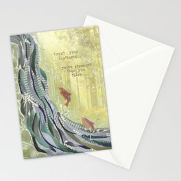 Trust Your Instincts Stationery Cards