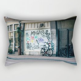 Streets of Amsterdam Rectangular Pillow