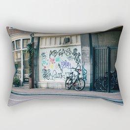 Streets of Amsterdam Rectangular Pillow