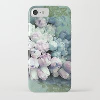 antique iPhone & iPod Cases featuring Tulips Antique by Joke Vermeer