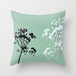 simple pleasures Throw Pillow