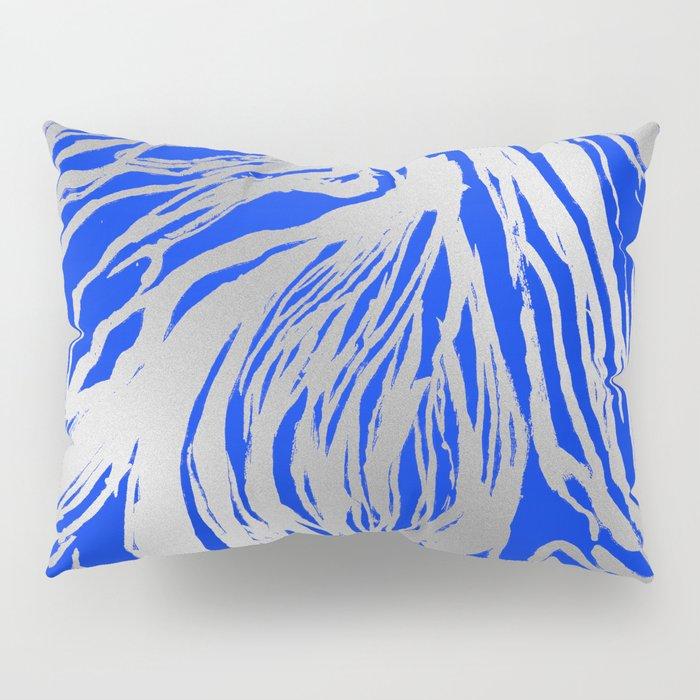 Marbled Blue Pillow Sham