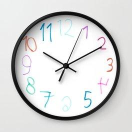 Aria's Clock Wall Clock