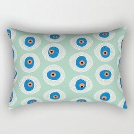 Evil Eye Charm - Hemlock  Rectangular Pillow