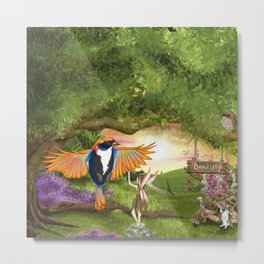 'Beautifly' - Ella Springhollow Scene 2 Metal Print