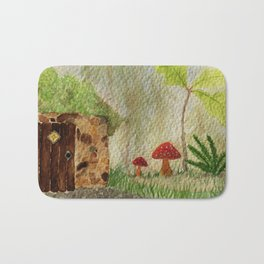 The Fairy Hut Bath Mat