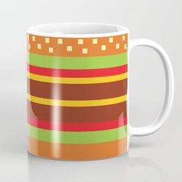 Minimalistic Cheese Burger Coffee Mug