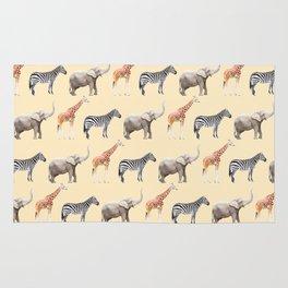 Animals pattern Rug