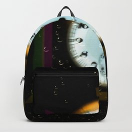 Time passes like soap bubbles Backpack