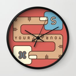 Save Your Work Wall Clock