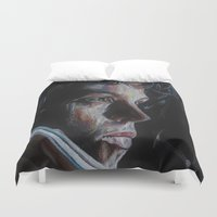 ripley Duvet Covers featuring Ripley from Aliens by Ashley Anderson