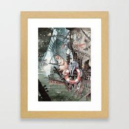 Shipcatville Framed Art Print