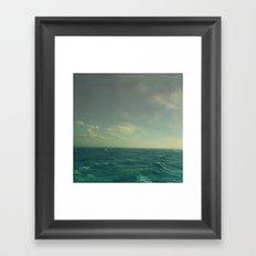 Limitless Sea Framed Art Print
