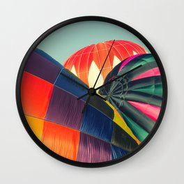 Balloon Love: up up and away! Wall Clock