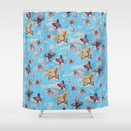 Cat Fairies print Shower Curtain