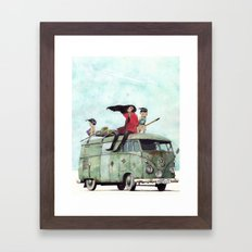 And other things Framed Art Print