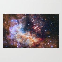 Space Nebula Galaxy Stars | Comforter Rug