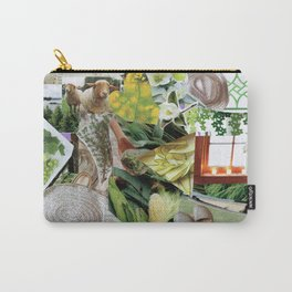 Collage - Feeling Green Carry-All Pouch