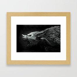 darkwolf Framed Art Print