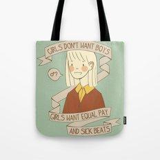 Sick Beats Tote Bag