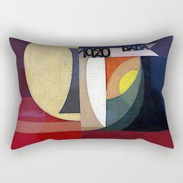 Sophie Taeuber Arp Composition Dada Rectangular Pillow