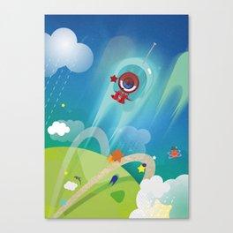 The Eyez - Astronaut Canvas Print