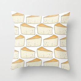 Idiazábal - smoky cheese Throw Pillow