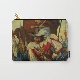 """""""Stand and Deliver"""" Pirate Art by NC Wyeth Carry-All Pouch"""