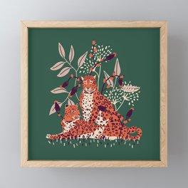 leopards Framed Mini Art Print