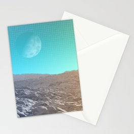 Daylight In The Desert Stationery Cards