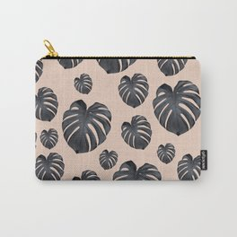 Tropical Monstera Dream #3 #tropical #pattern #decor #art #society6 Carry-All Pouch