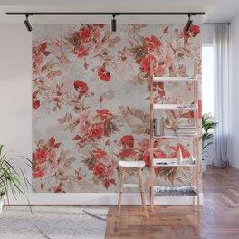 Spring Roses Wall Mural